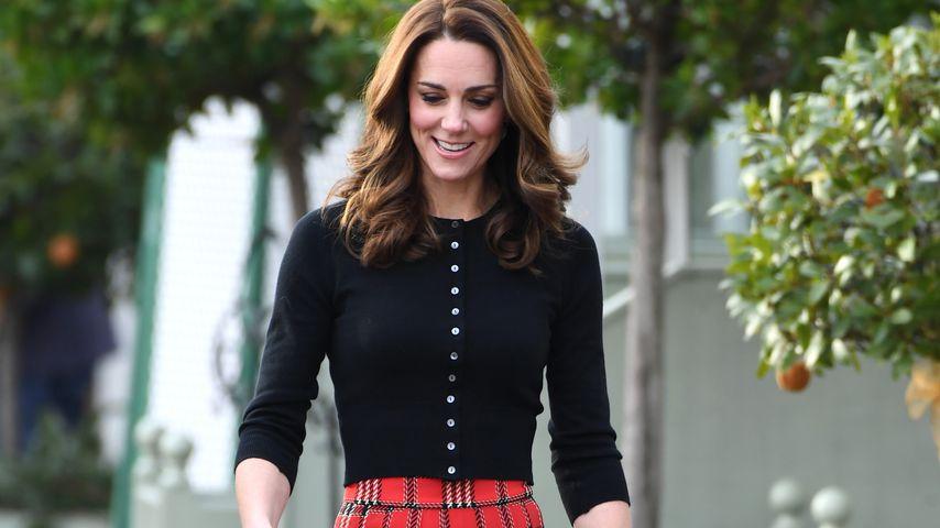 Karierte Eleganz: Herzogin Kate überzeugt im Schottenrock!