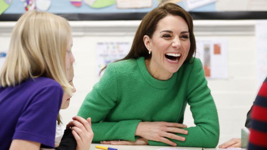 Herzogin Kate enthüllt bei Schulbesuch geheime Leidenschaft
