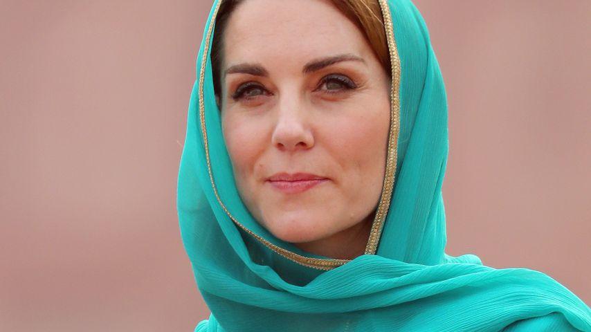 Herzogin Kate in Lahore, Pakistan 2019