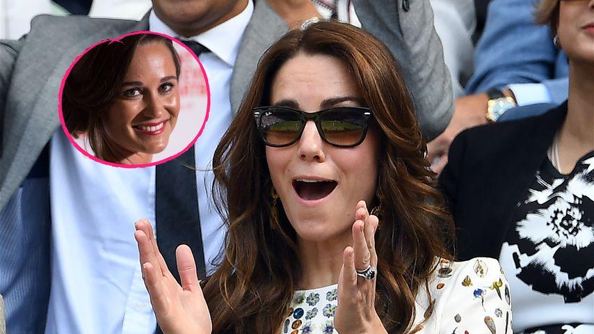 Nach Pippas Verlobung: Herzogin Kate fiel aus allen Wolken!