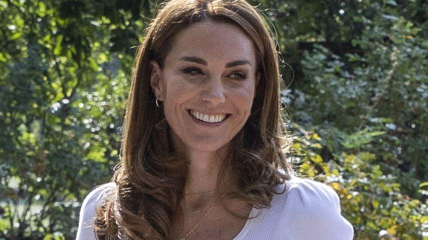 Herzogin Kate im Battersea Park in London