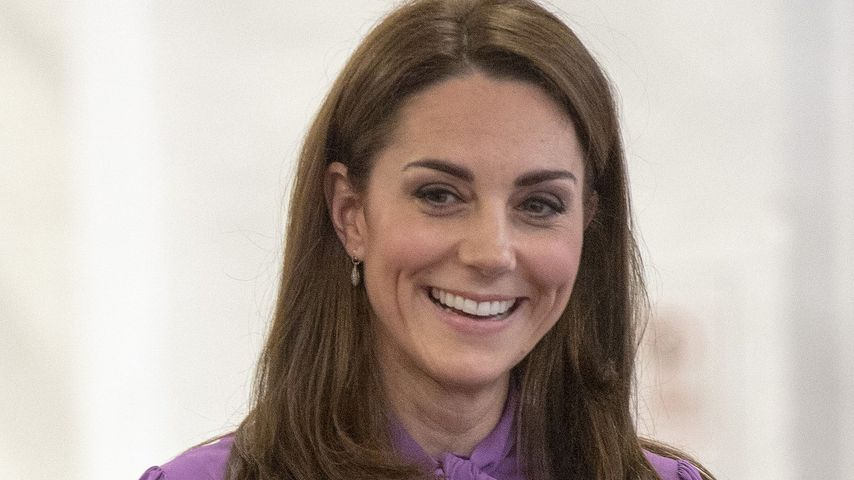Erste Gehversuche: Herzogin Kate plaudert über Prinz Louis