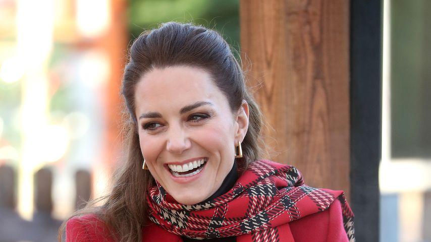 Herzogin Kate, Dezember 2020 in Cardiff