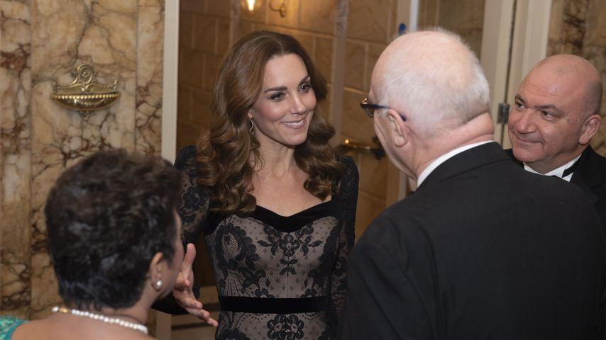 Herzogin Kate bei der Royal Variety Performance in London, 2019