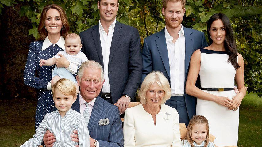 Sein ganzer Stolz: Familienfoto zu Prinz Charles' Geburtstag