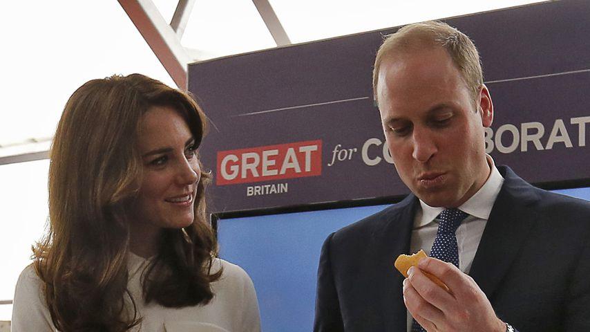Herzogin Kate und Prinz William in Mumbai, 2016