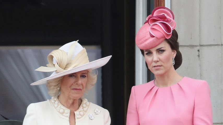 Camilla, Duchess of Cornwall und Herzogin Kate