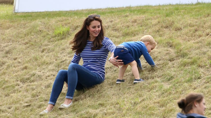 Süß: Wirbelwind Prinz George sorgt für Action bei Polospiel