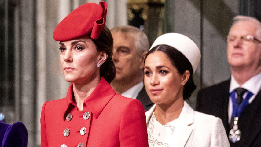 Herzogin Kate und Herzogin Meghan 2019 in London