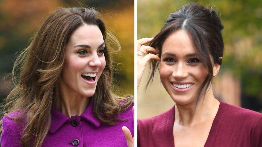So sollen sich Herzogin Kate und Meghan wirklich verstehen!