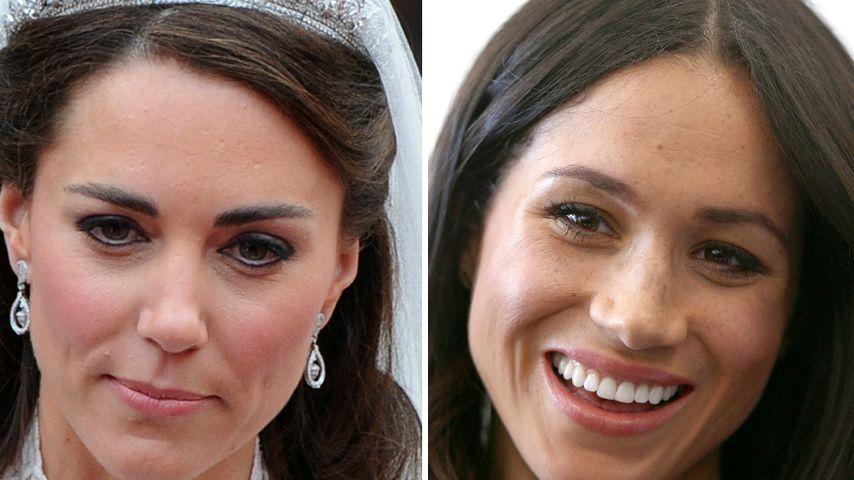 Wie damals bei Kate: So wird Meghans Hochzeits-Make-up!
