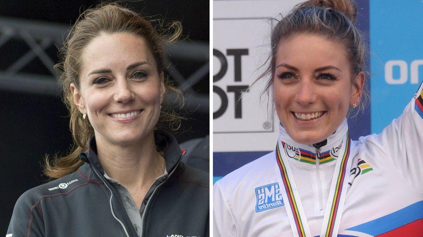 Krass: Diese Olympionikin sieht aus wie Herzogin Kate