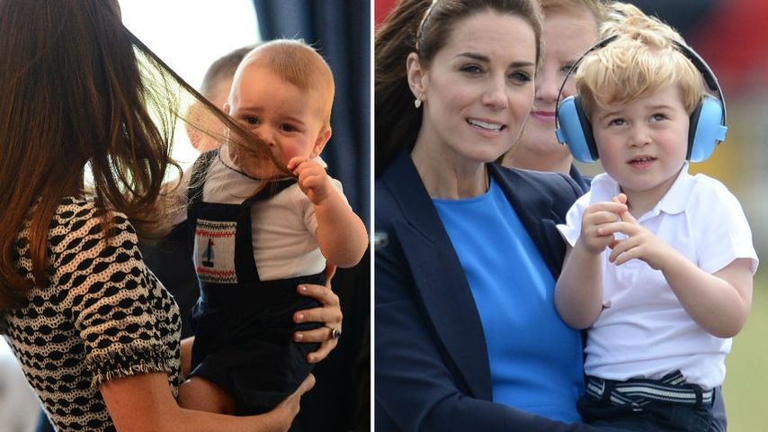 Mini-Royal: Ach Prinz George, bist du groß geworden!