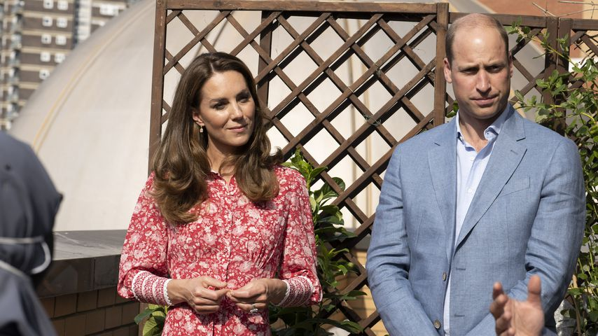 Herzogin Kate und Prinz William im September 2020
