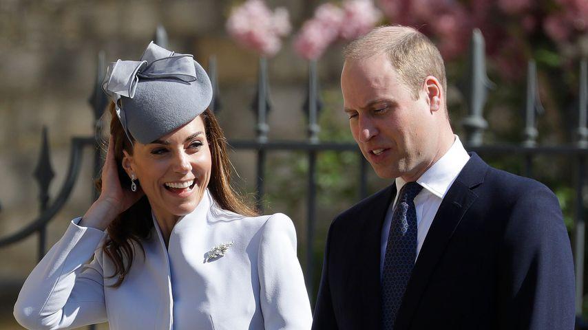 Herzogin Kate und Prinz William auf dem Weg zur Ostermesse 2019