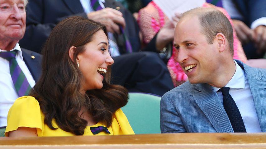 Kate & William in Wimbledon: Worüber lachen sie hier nur?