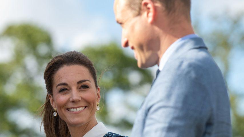 Herzogin Kate und Prinz William in Norfolk, 2020