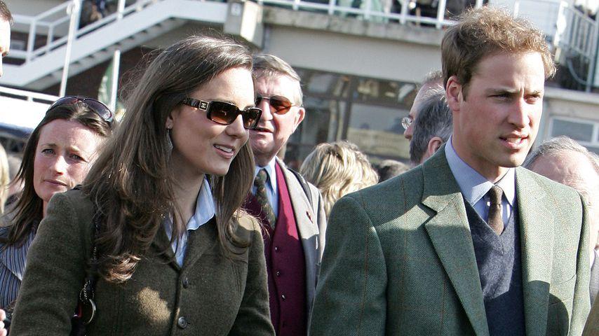 Herzogin Kate und Prinz William im Jahr 2007