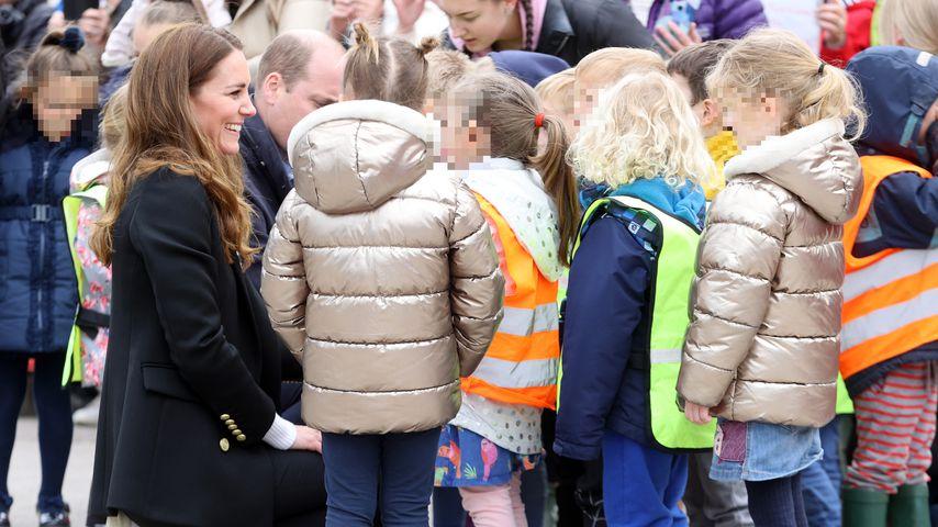 Herzogin Kate und Prinz William in Schottland, 2021