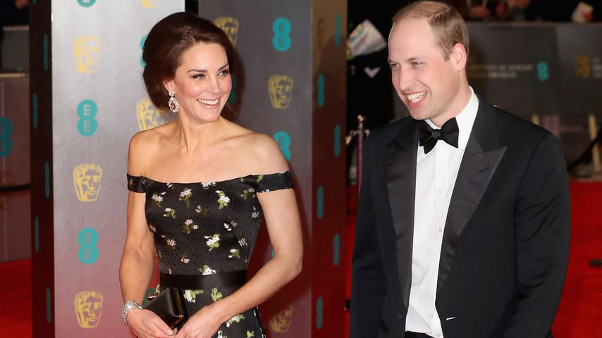 Kinderfrei: Kate & William machen die BAFTAs zur Date-Night!