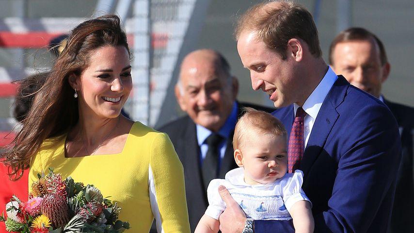 Kate & William feiern 3. Hochzeitstag mit George!