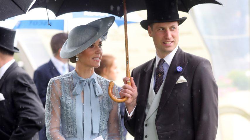 Herzogin Kate und Prinz William beim Royal Ascot