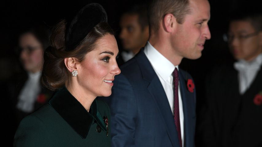 Herzogin Kate und Prinz William in der Westminster Abbey