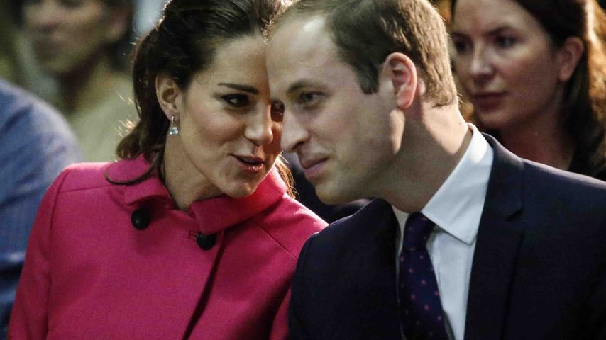 Herzogin Kate und Prinz William