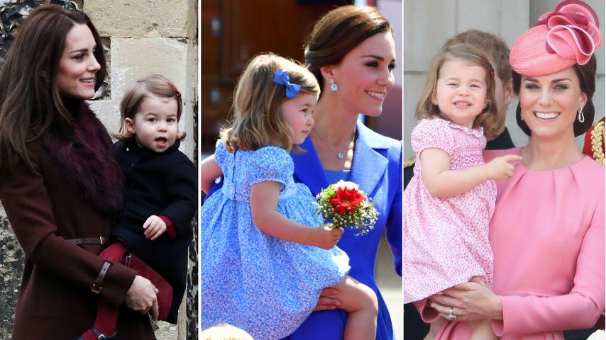 Herzogin Kate & Charlotte: Ihre schönsten Mama-Tochter-Looks