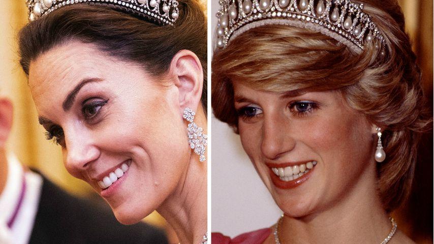 Bei diesem Empfang trug Herzogin Kate jetzt Dianas Diadem!