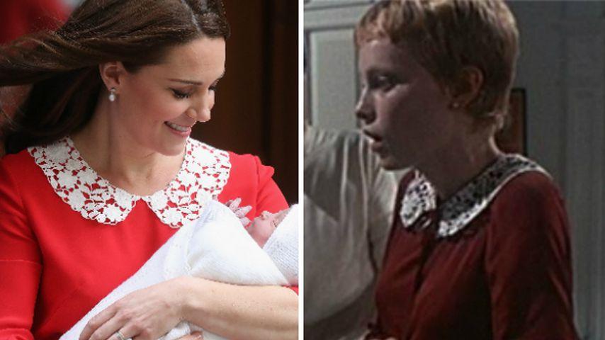 Nach Baby-Geburt: Kate trug gleiches Kleid wie Satan-Braut!