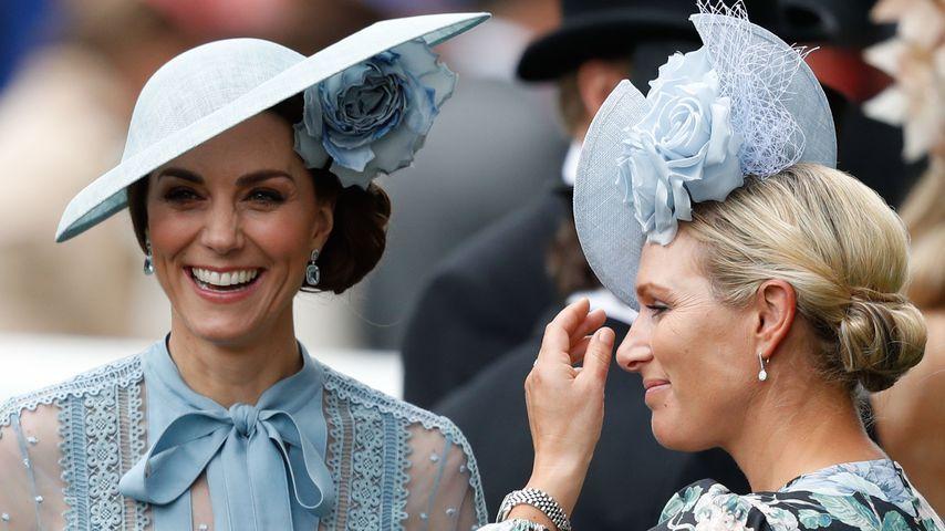 Herzogin Kate und Zara Tindall beim Royal Ascot 2019