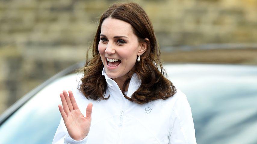 Tolle Geste: Herzogin Kate gab kleinem Jungen eine Spucktüte