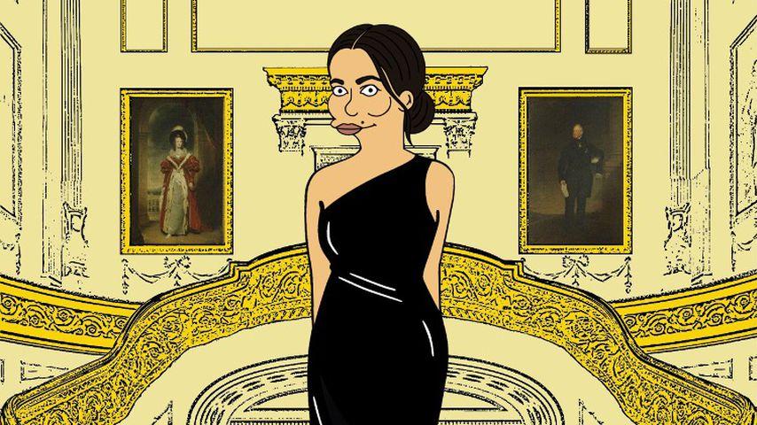 """Herzogin Meghan als """"Simpsons""""-Figur"""