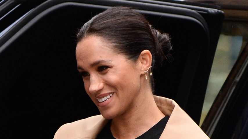 New pictures: Meghan shines at first appearance in 2019!