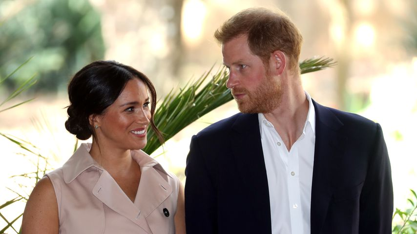 Herzogin Meghan und Prinz Harry in Johannesburg, September 2019
