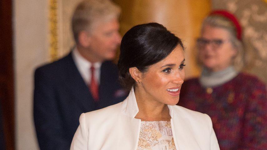 Herzogin Meghan im Buckingham Palace