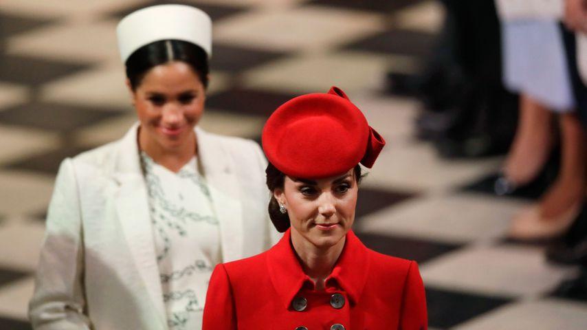Herzogin Meghan und Herzogin Kate im März 2019