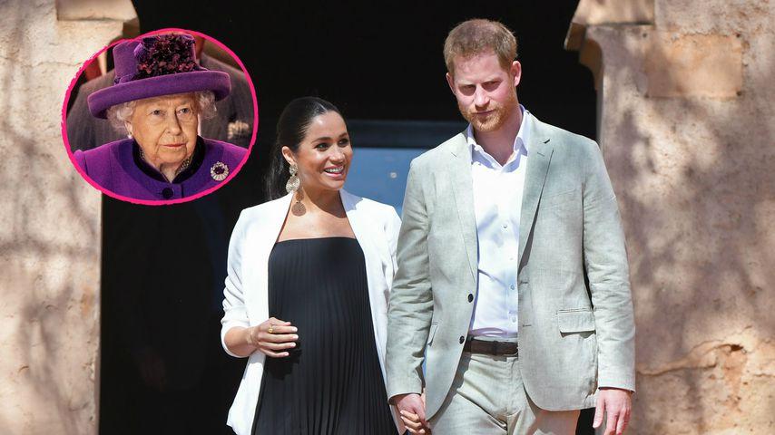 Veto eingelegt: Sind Harry & Meghan der Queen zu unabhängig?