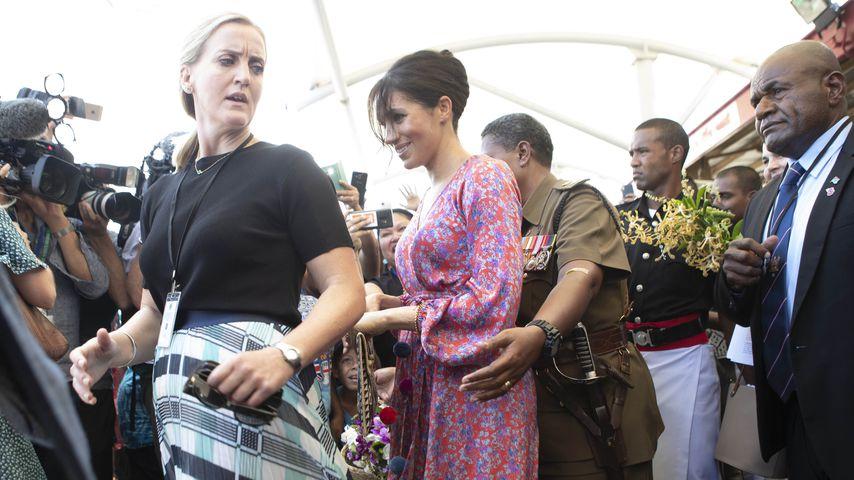 Bodyguard-Kündigung: Herzogin Meghan brach in Tränen aus!