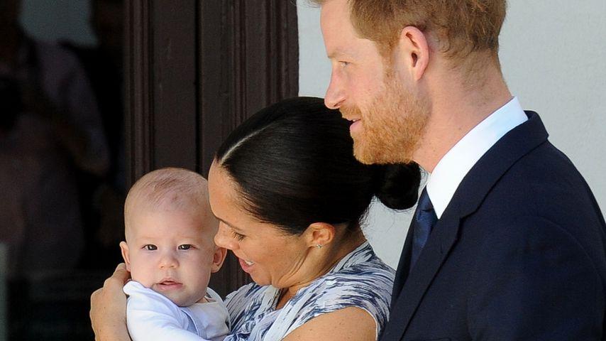 Herzogin Meghan, Prinz Harry und Söhnchen Archie, September 2019
