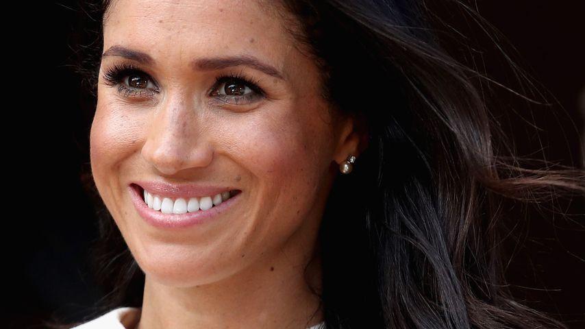 Gemeinsamer Termin: Meghan trug Geschenk-Ohrringe der Queen!