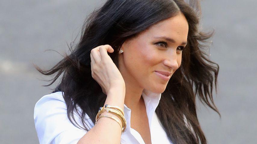 Beim Launch ihrer Kollektion: Meghan trägt Dianas Schmuck