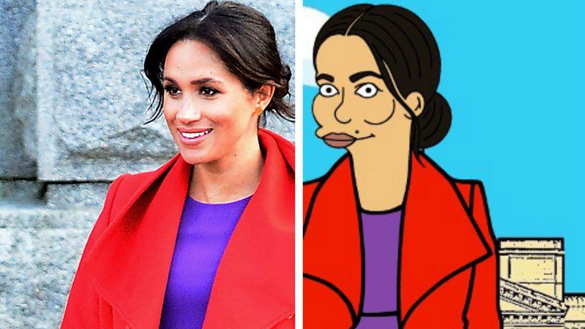"""Spricht Herzogin Meghan bald eine Rolle bei """"Die Simpsons""""?"""