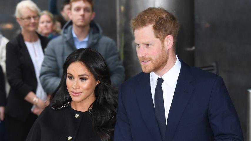 Herzogin Meghan und Prinz Harry in London