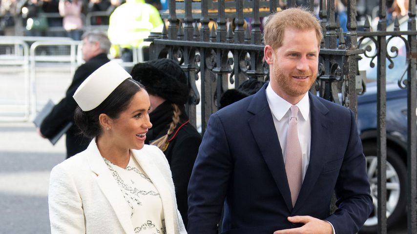 Herzogin Meghan und Prinz Harry am Commonwealth Day 2019