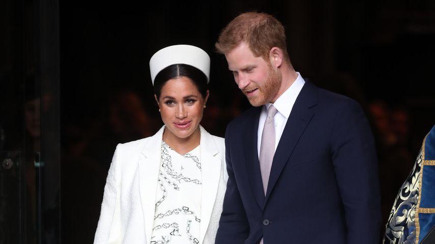 Herzogin Meghan und Prinz Harry am Commonwealth Day 2019