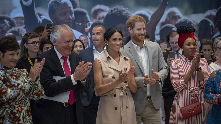 Zum 100. Geburtstag: Meghan und Harry feiern Nelson Mandela!