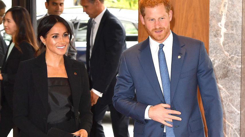 Herzogin Meghan zusammen mit Prinz Harry