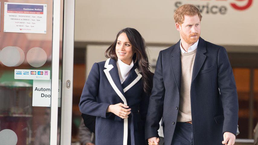 Herzogin Meghan und Prinz Harry in London im März 2020